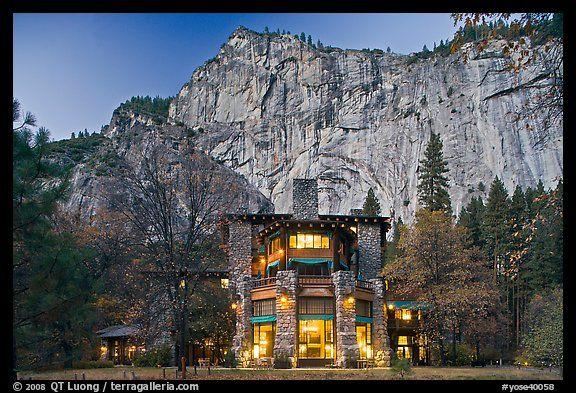 The Ahwahnee Hotel California Yosemite National Park