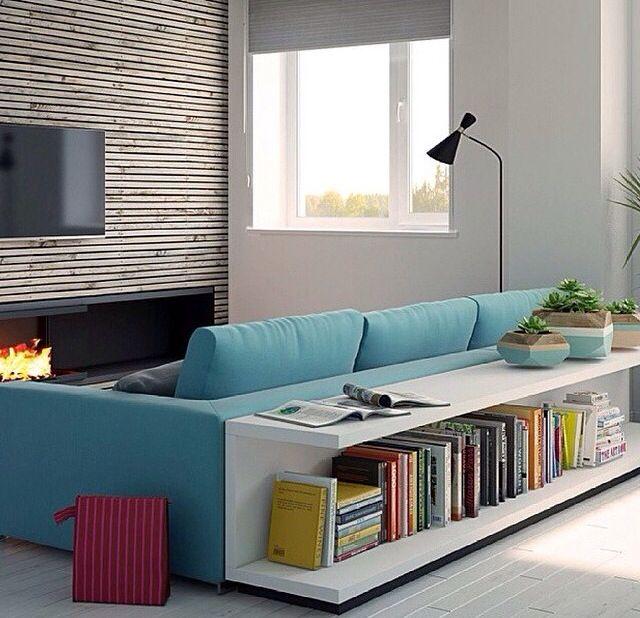 Wohnzimmer In Braunweigrau Einrichten Wohnzimmer Grau: Like The Shelf-couch-combi!