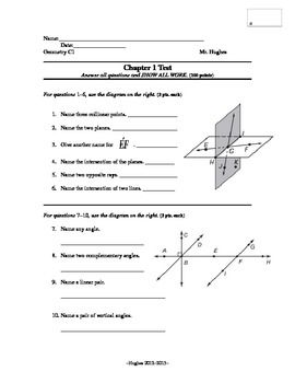 17+ Lively points lines and planes worksheets answers ideas