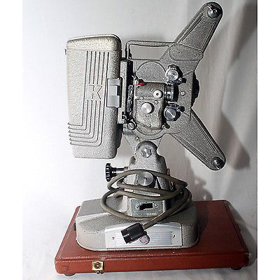 Vintage Keystone 8mm Projector Model 109D W  Case Collectable