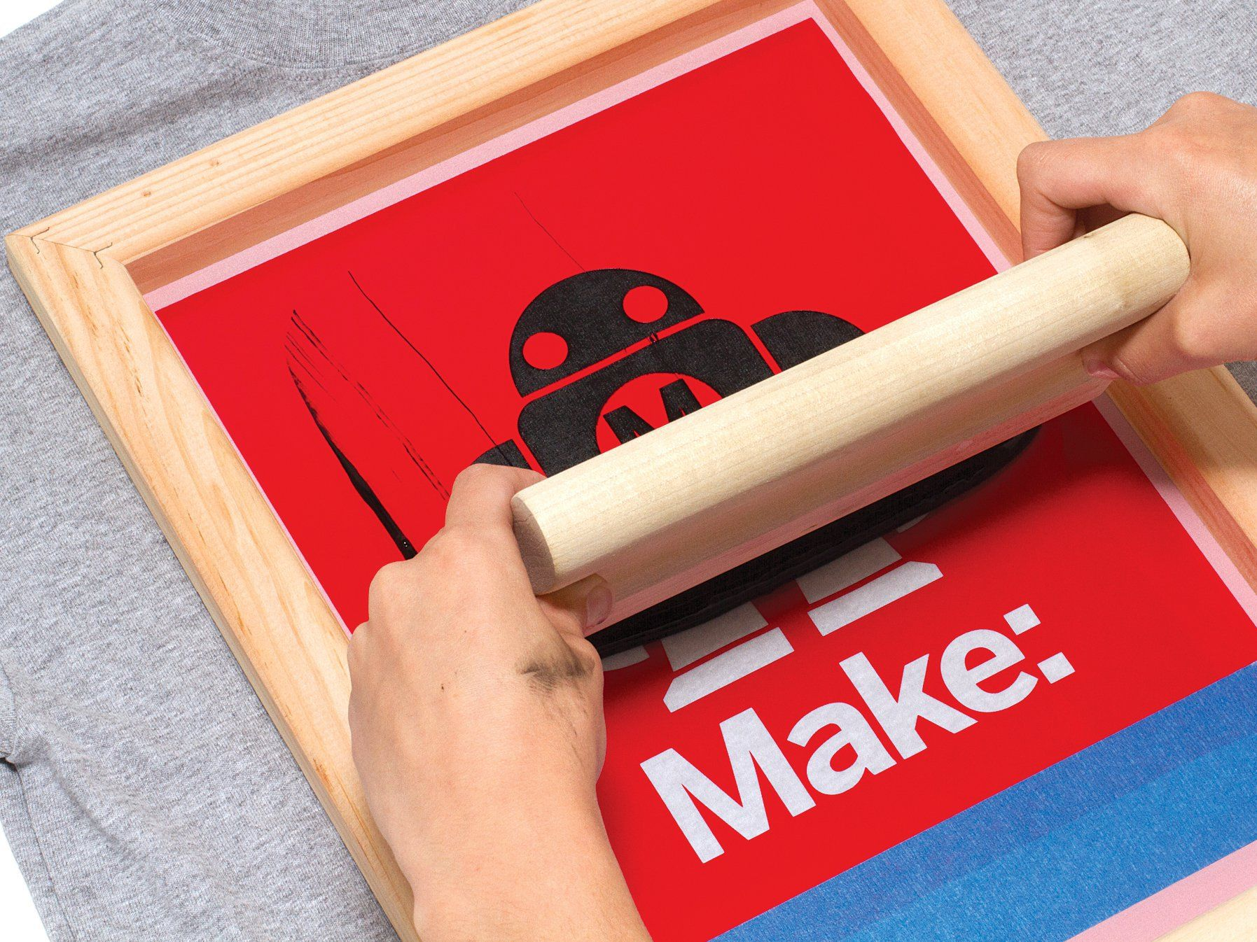 simple silk screen printing using a vinyl cutter vinyls