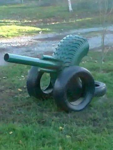 Meriam Tire Art Tire Playground Kids Outdoor Play