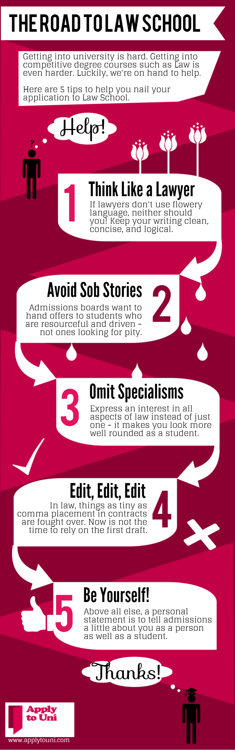 The Road To Law School [INFOGRAPHIC] #law #school