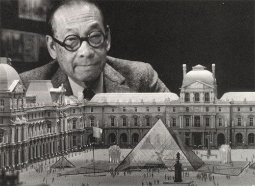 I. M. Pei, Born April Chinese Born American Architect, Designed Glass  Pyramid In Front Of Louvre Museum In Paris U0026 John Hancock Tower In Boston.