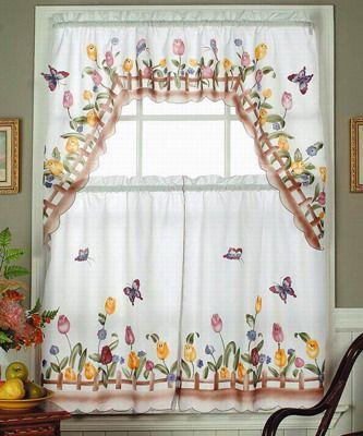 cortinas para cocina - Buscar con Google VENTANAS LINDAS Y