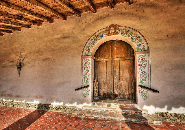 California Missions Door Gate Padua Spanish Style Pathways San Antonio Arches Gates Windows Doors & Door Mission San Antonio de Padua | Padua San antonio and ...
