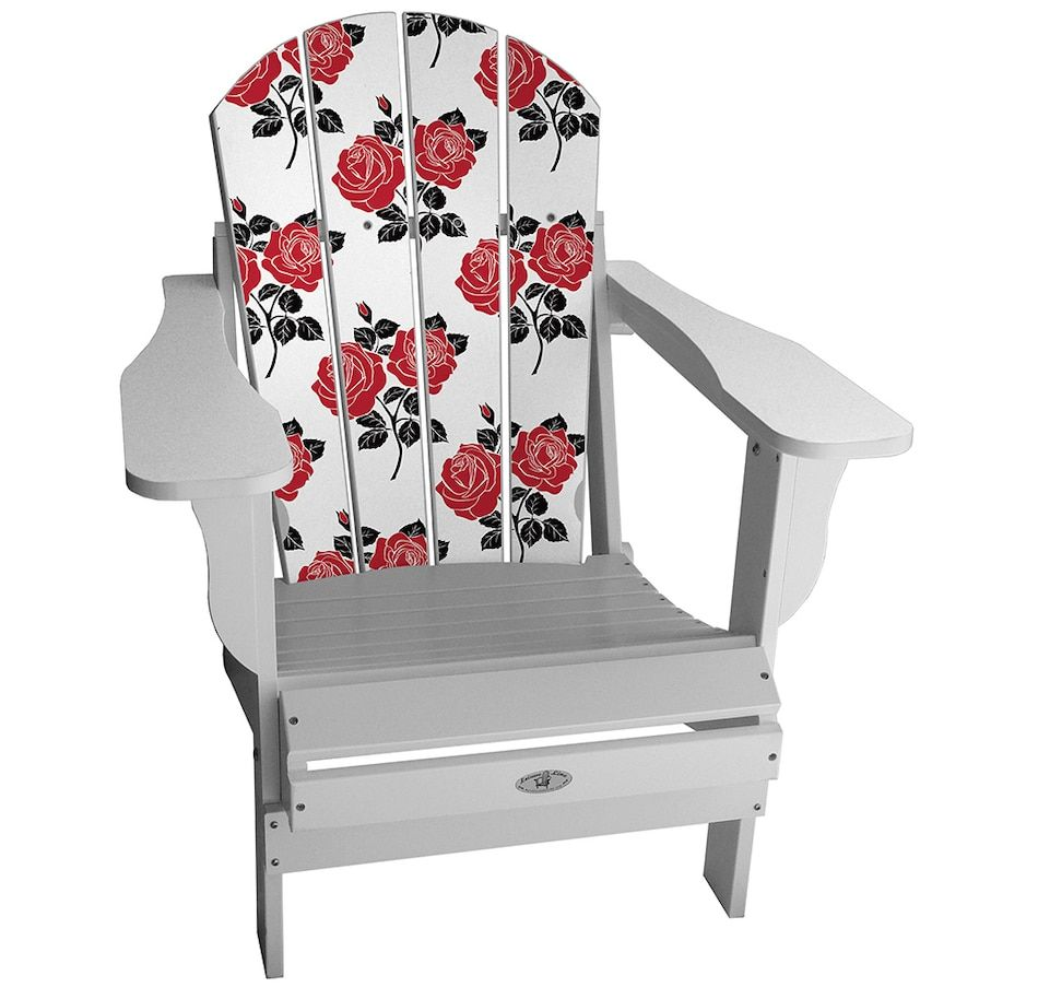 Adirondack Lifestyle Chair Roses Chair Outdoor Chairs