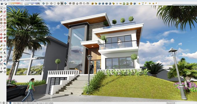 This is an exclusive sketchup video tutorial that briefly ...