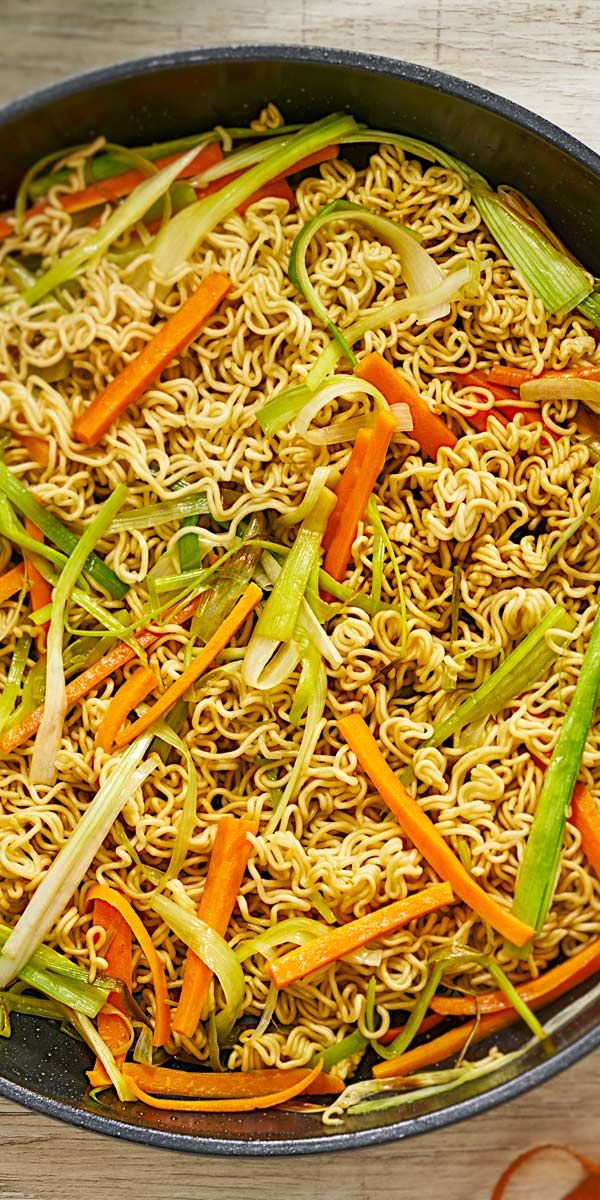 Photo of Asian noodles
