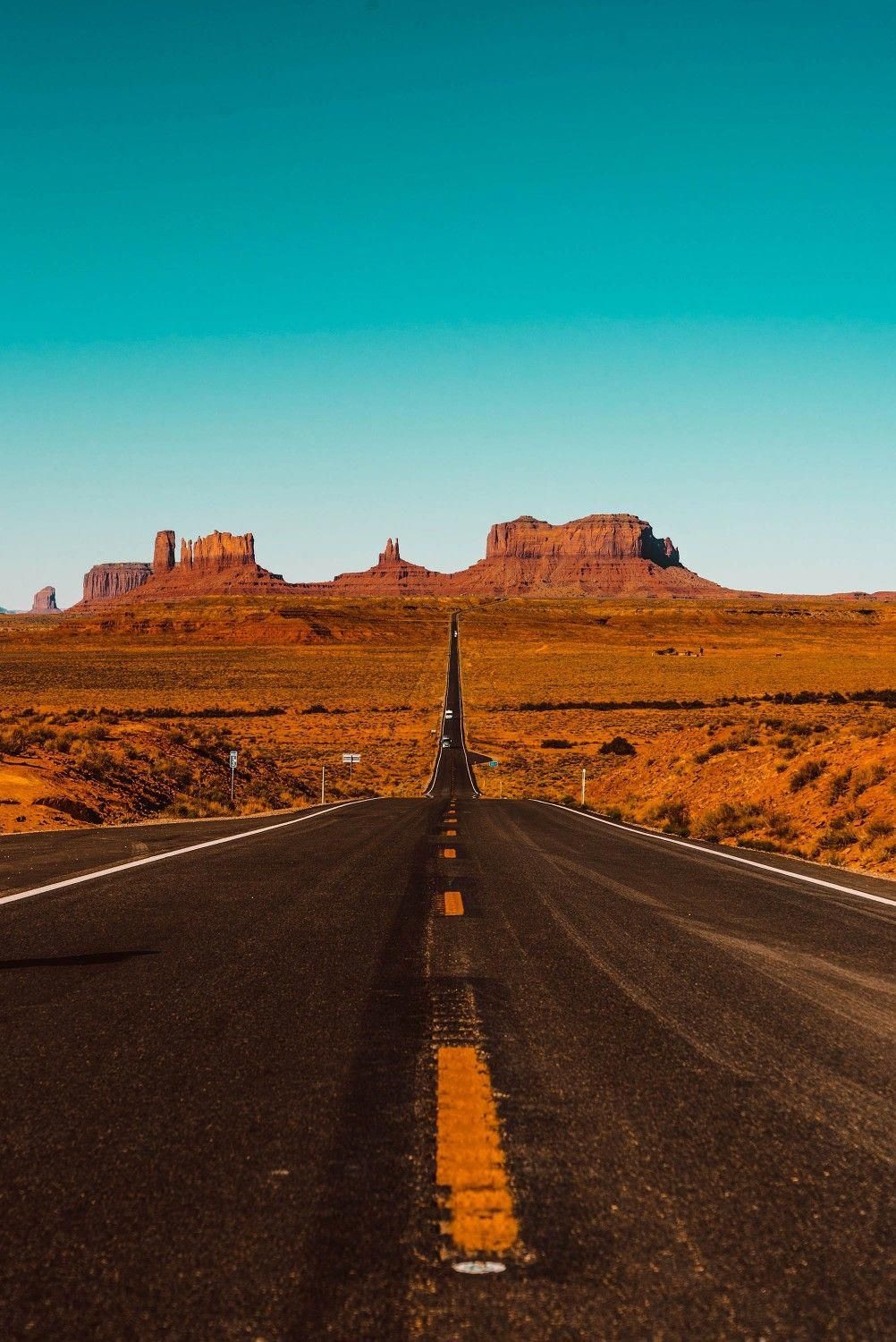 Straight Road Wallpaper Android Wallpaper Iphone Wallpaper Hdwallpaper Best Wallpaper Pc Hd Wallpaper Road Trip Usa Monument Valley American Road Trip