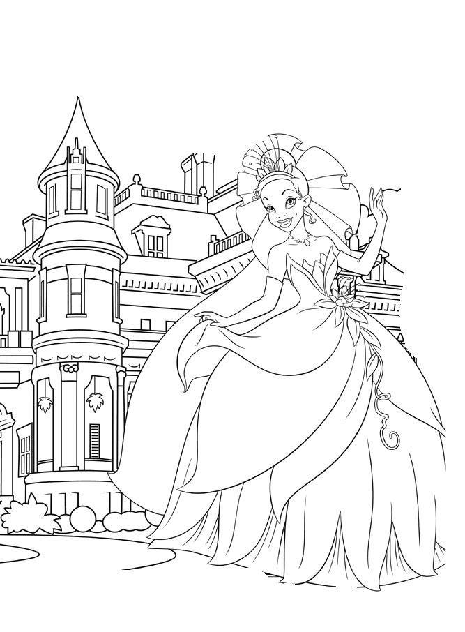 disney cinderella castle coloring pages   Dibujos para colorear - Disney   Princess coloring pages ...
