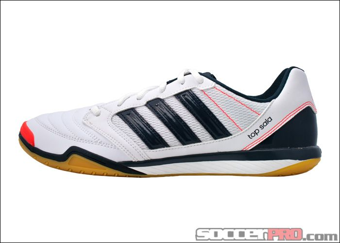 Adidas Freefootball Top Sala Indoor Soccer Shoes White With Infrared And Tech Onix 53 99 Onix Acessorios Masculinos Looks