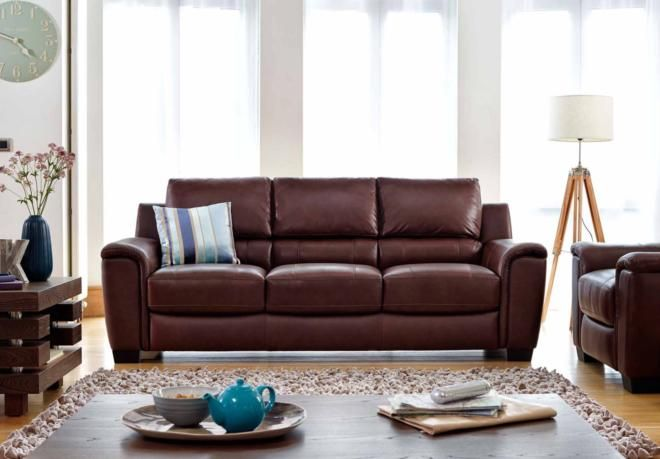 Furniture Village Armchairs 3 seater sofa - georgia - living room furniture | sofas and
