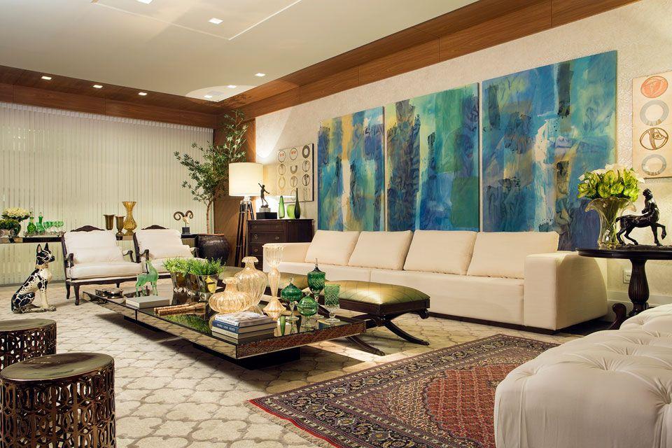 Sala De Estar Ambientes Decorados ~  arquitetura sala de estar avançar sala de estar e jantar rosane