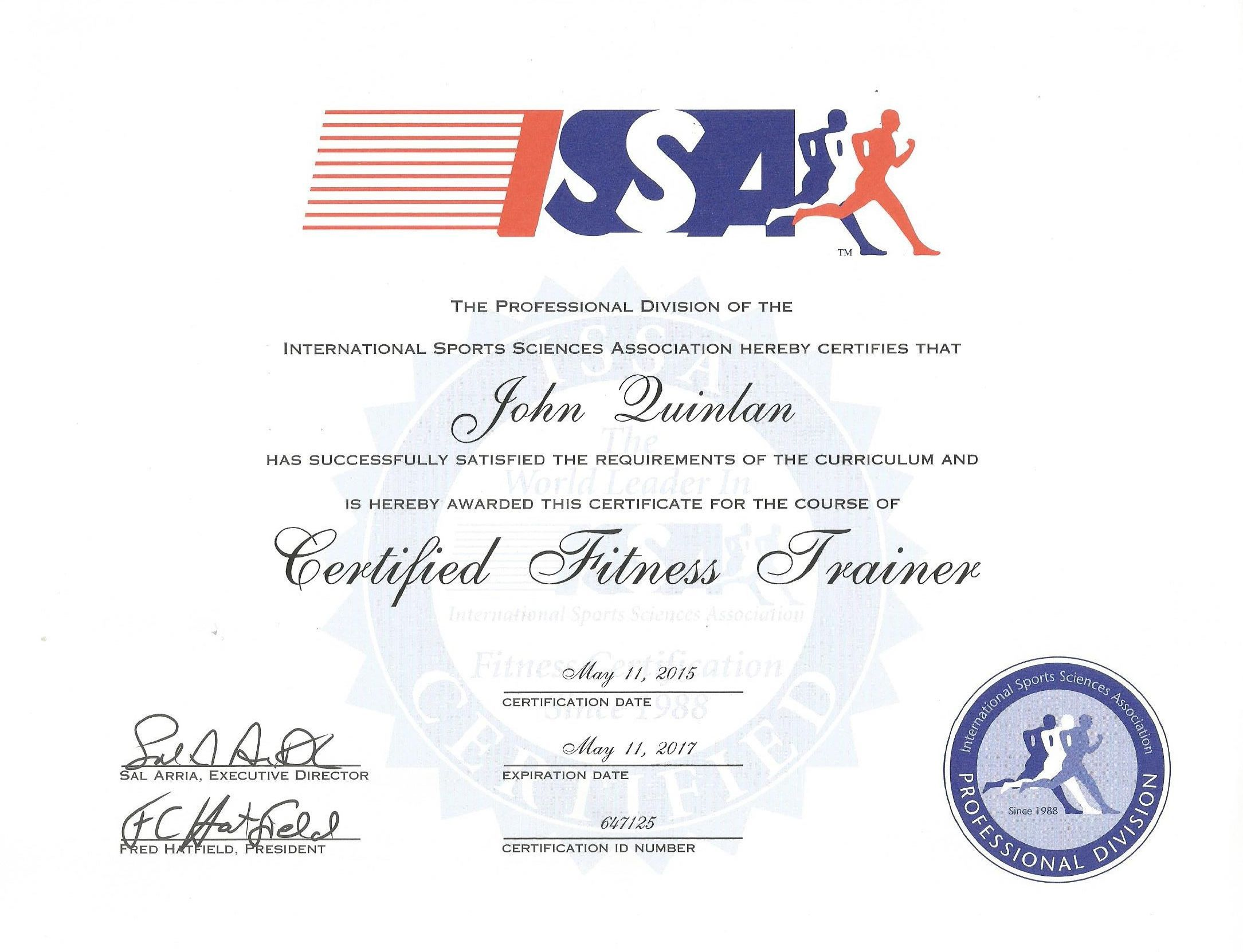 John quinlan issa official certified personal trainer let me john quinlan issa official certified personal trainer let me help you make all of 1betcityfo Images