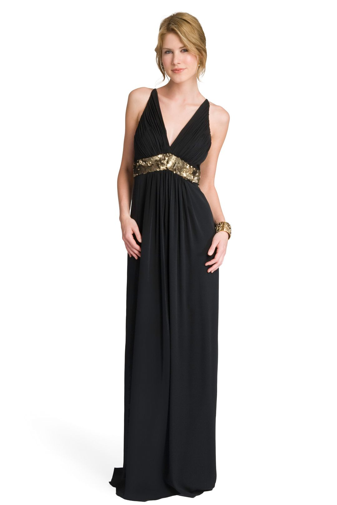 Sequin trim empire gown pinterest empire sequins and gowns
