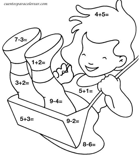 ejercicios para trabajar sumas para nios de primer grado  Buscar