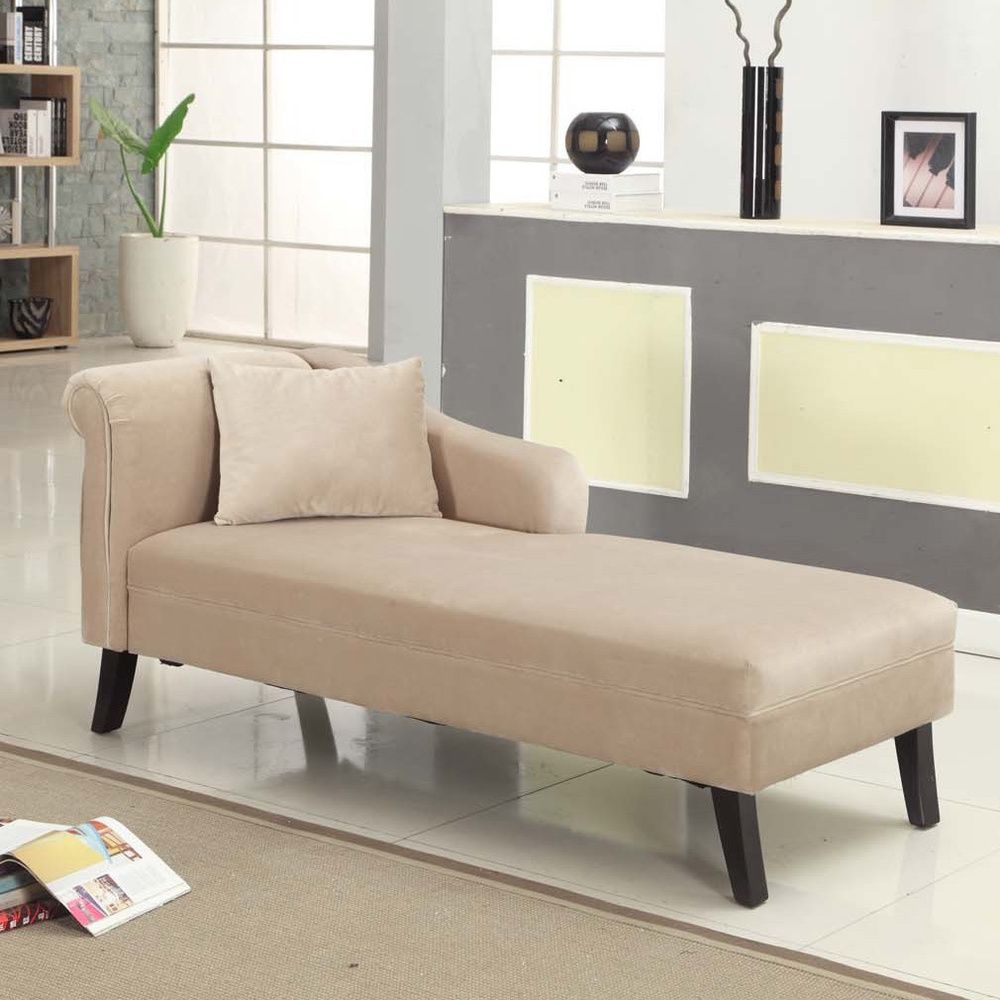 Patterson Taupe Chenille Chaise - Overstock™ Shopping - Great Deals ...