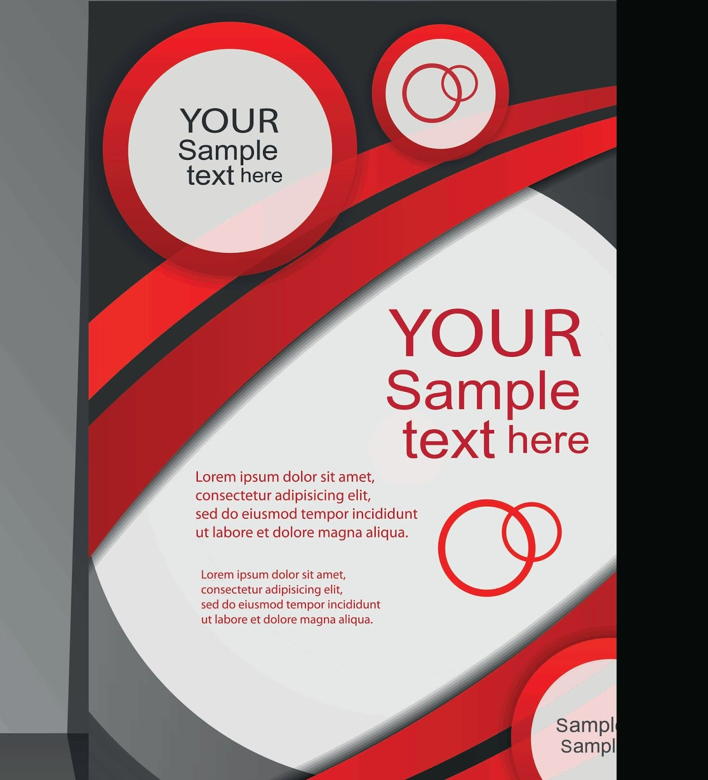 Poster design business - Red Business Poster Cover Design Vector Jpg 1453 1600