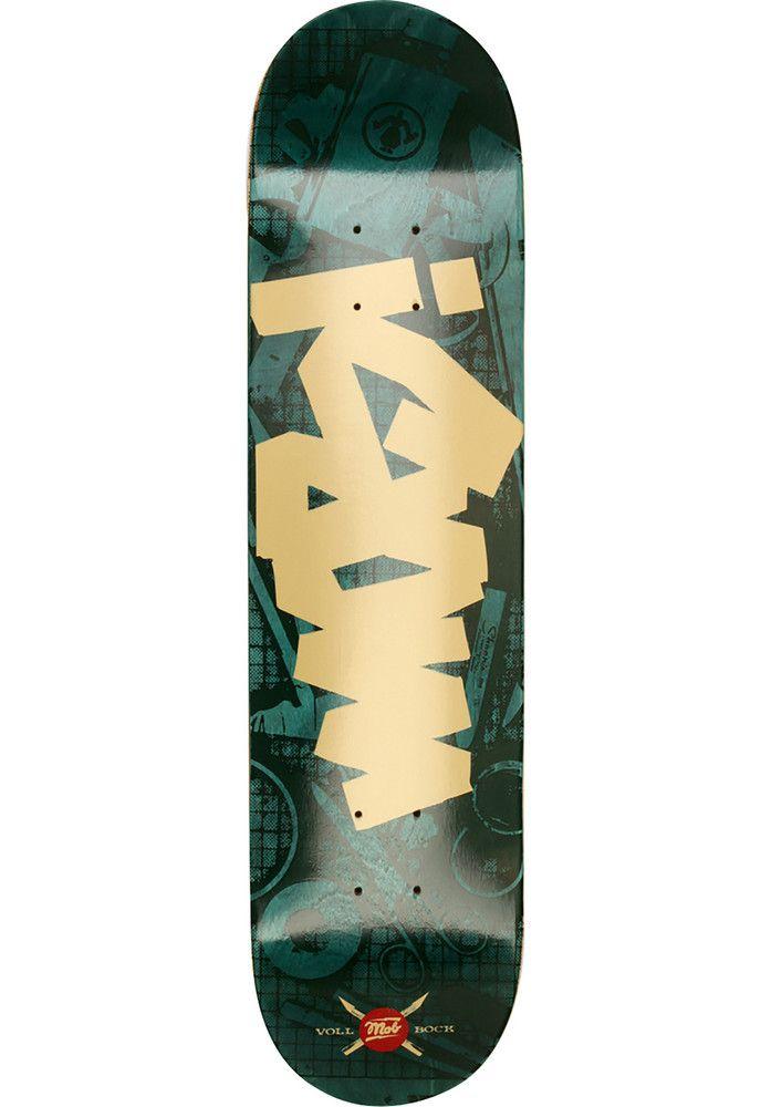 MOB-Skateboards Tape-Desk, Deck, green Titus Titus Skateshop #Deck #Skateboard #titus #titusskateshop