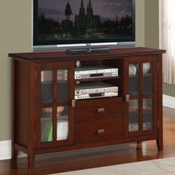 Charmant Simpli Home Artisan TV Stand