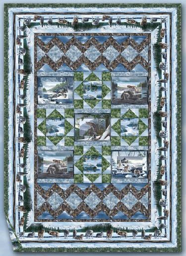 Free Quilt Patterns To Print Download The Free Lone Wolves