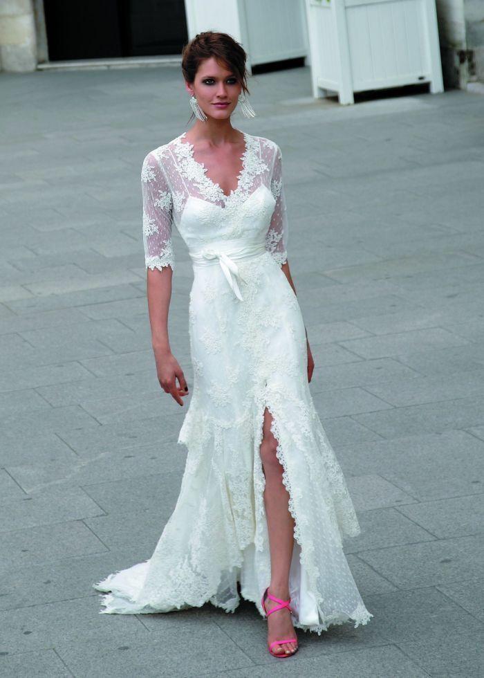 Wedding Dresses for the Bride Over 40 | Pinterest | Dress suits ...