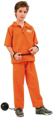 4c56b3fc6a7 Not Guilty Prisoner Boy Kids Costume. Father and Son Costumes Cop – Inmate