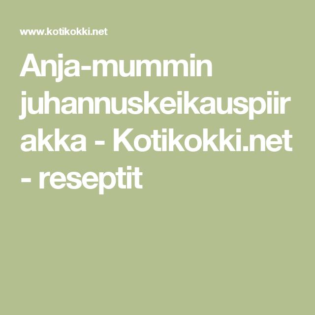 Anja-mummin juhannuskeikauspiirakka - Kotikokki.net - reseptit