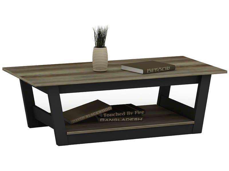 Table Basse Bicolore 552235 Table Basse Table De Salon Conforama Table
