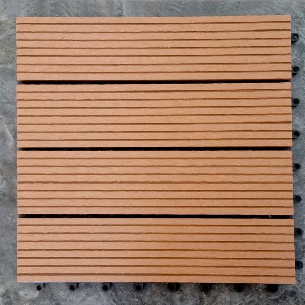 Composite Teak 12 X 12 Interlocking Deck Tiles Interlocking Deck Tiles Deck Tiles Deck Tile