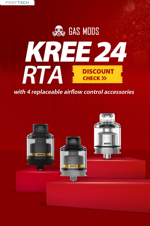 23 50 Authentic Kree 24 Rta 3 5 5 5ml 24mm Diameter At Fasttech Free Shipping Rta Filling System 24mm