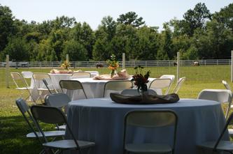 Outdoor Reception at Squires' Farm - SquiresFarmWeddings