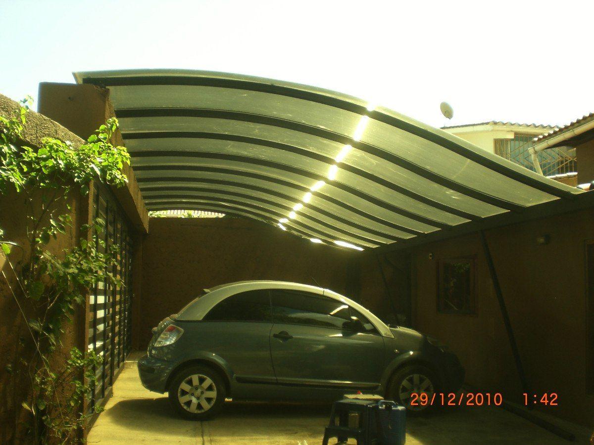 Cubierta policarbon to y estructura metalica techados y - Techos de lona ...