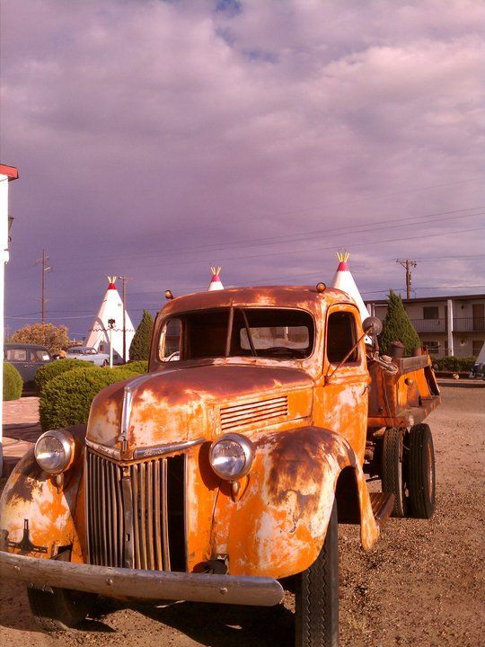Mater Is For Real At The Wigwam Village In Holbrook Az