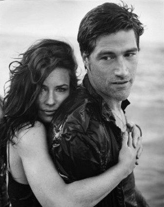 Evangeline Lilly & Matthew Fox