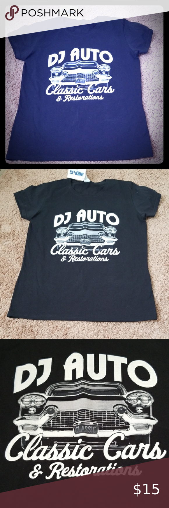 Tshirt🎁 Classic car,new never used Gildan Tops Tees – Short Sleeve