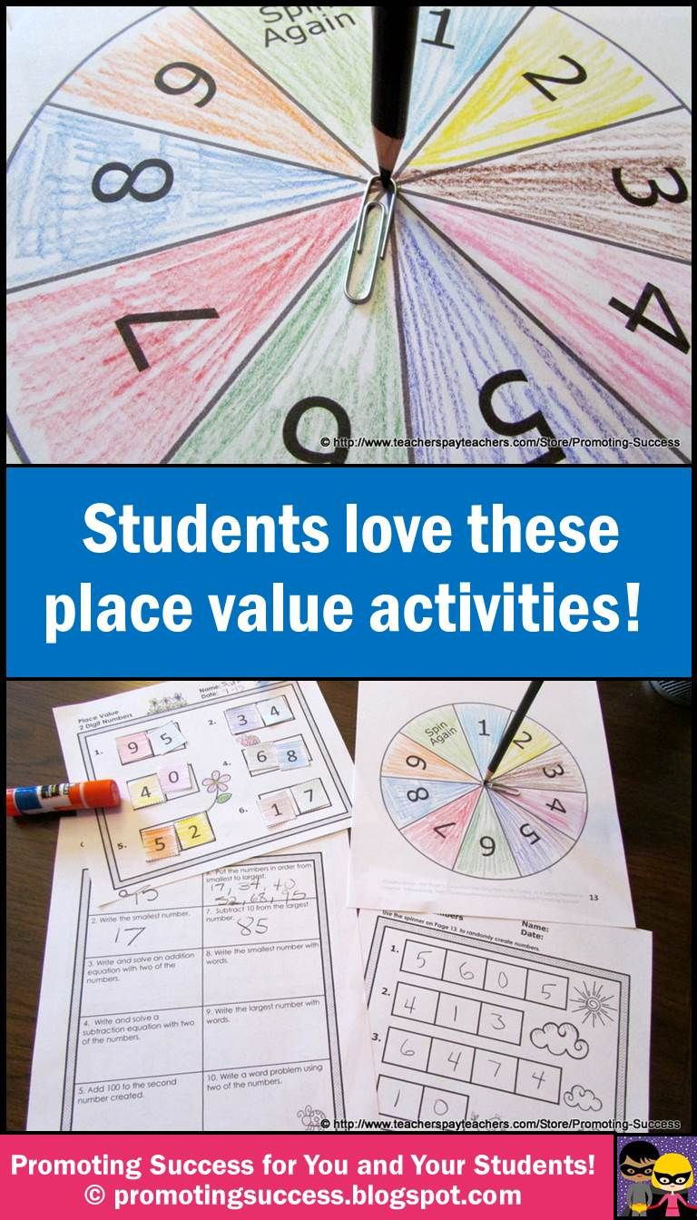 Place Value Activities: Students love these place value activities ...