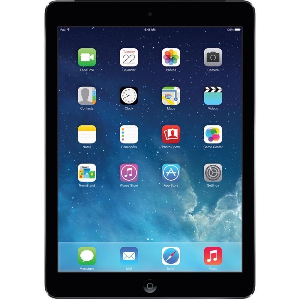 Apple Ipad Air 2 128gb Apple A8 X2 2 4ghz 9 7 Dark Gray Refurbished In 2020 Apple Ipad Ipad Mini Ios Operating System
