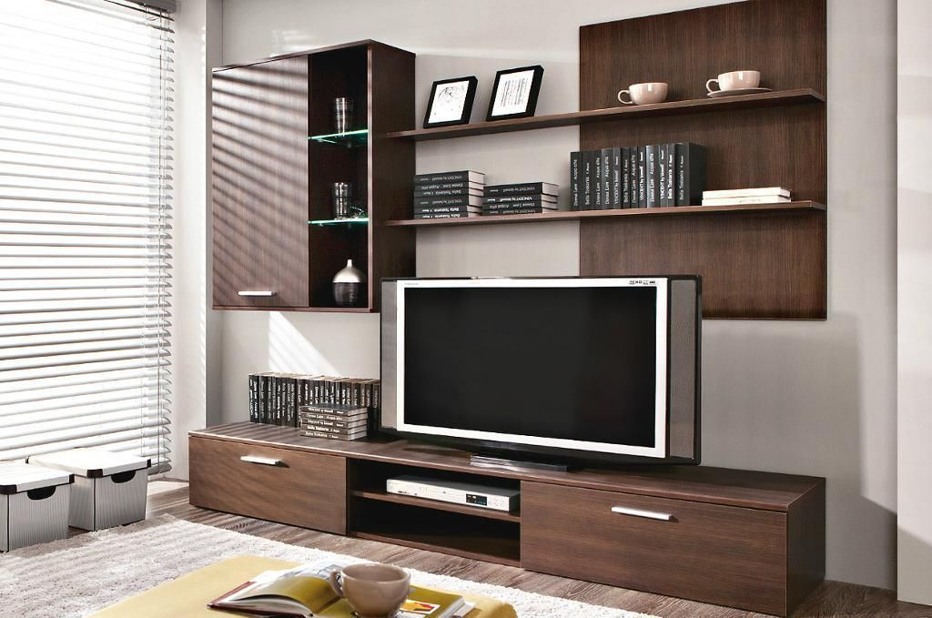 Living room Wall Units - TV Stand, Shelf, Wall Cabinet, Drawers ...