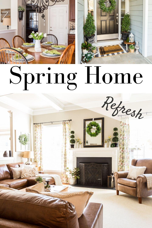 Spring Home Tour 2020 Spring Home Home House Tours