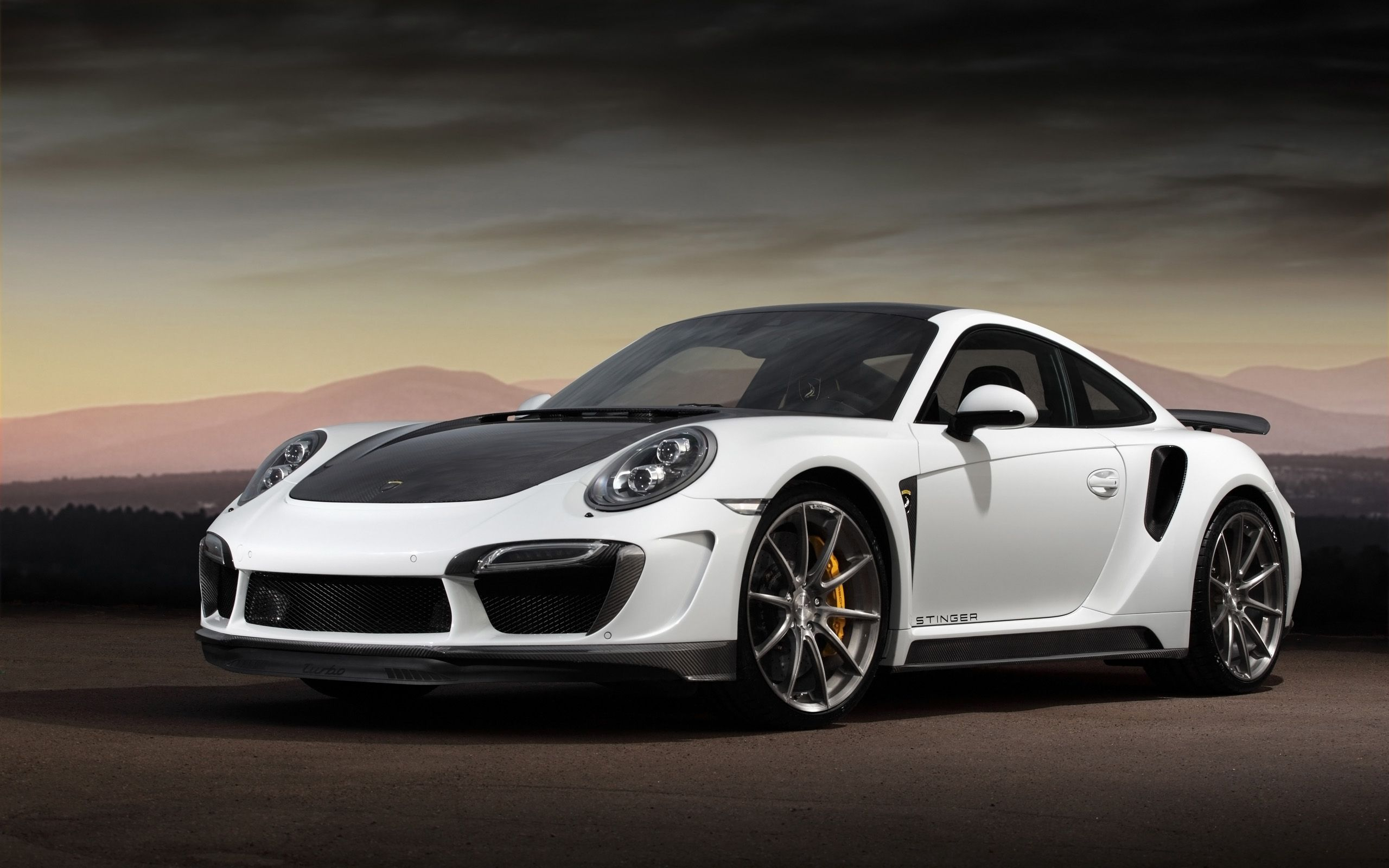 2015 topcar porsche 991 turbo stinger gtr car hd wallpaper in full hd from the cars category