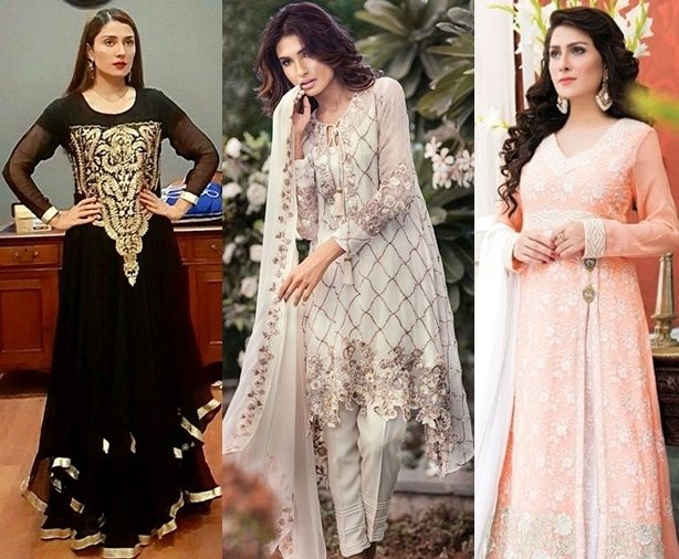 50 new pakistani dresses designs for girls 2017 eid Pakistani fashion designers