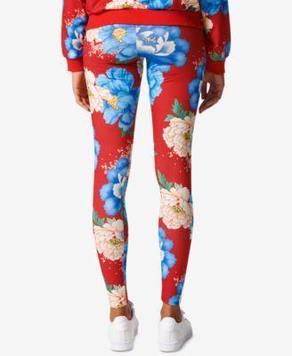 725b89e1ece adidas Originals Floral-Print Leggings - Multicolor S | Products ...