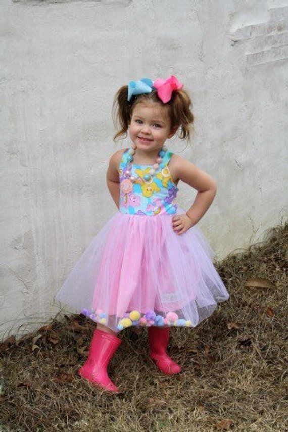 Care Bear Dress, Care Bear Birthday Dress, Care Bear Birthday Outfit, Care Bear Party Dress, Care Be #carebearcostume