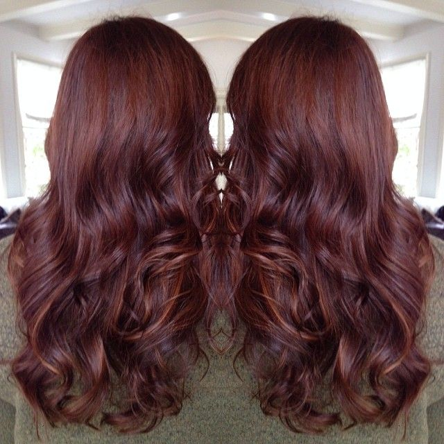 Best 20 Dark Copper Hair Ideas On Pinterest Auburn Red