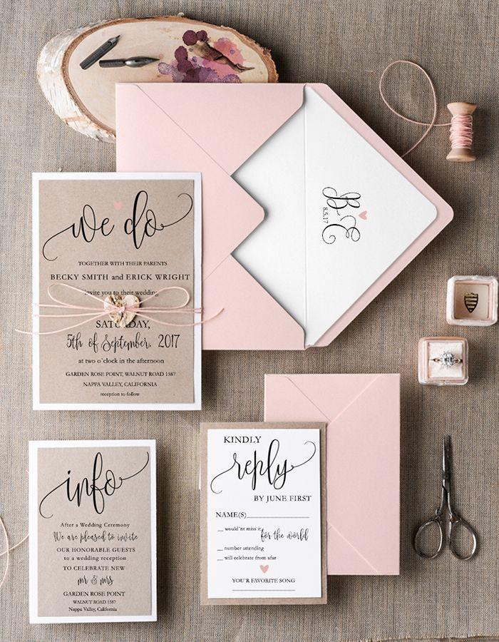 Wedding Invitations Sale 013 Slcc In Wedding Invitation Kits Rustic Wedding Invitation Set Rustic Invitations