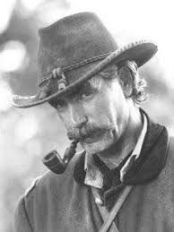 Sam Elliott smoking a cigarette (or weed)