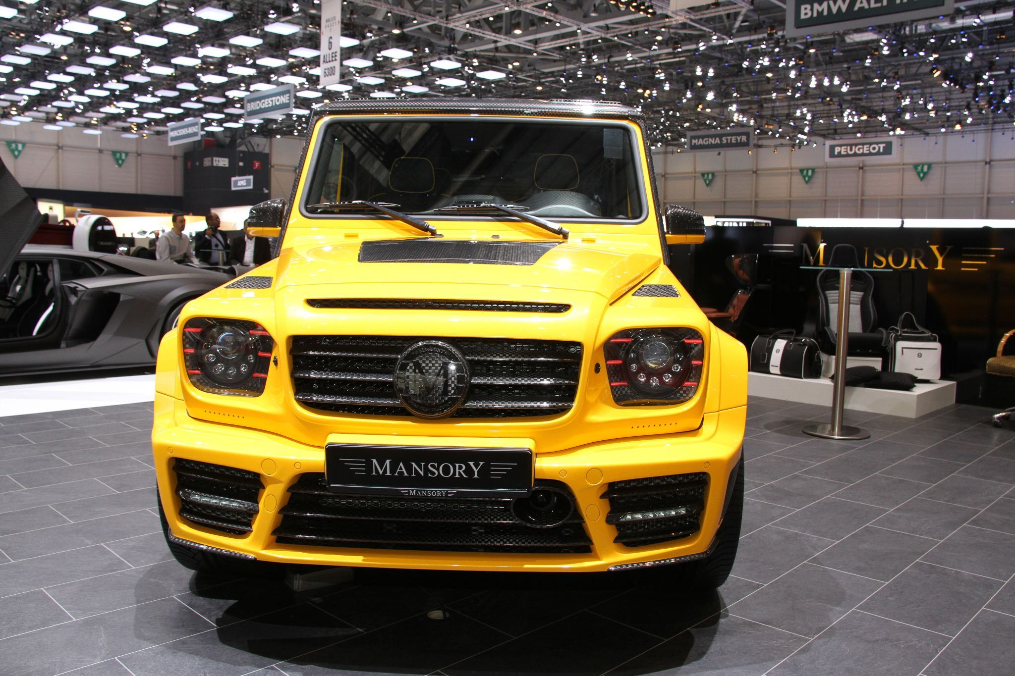 "Mercedes Benz G Class ""Gronos"" by Mansory 840 PS 828 hp 617 kW"