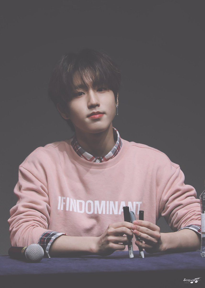 Dark dengan baju dominan pink. | stray kids in 2019 | Kpop ...